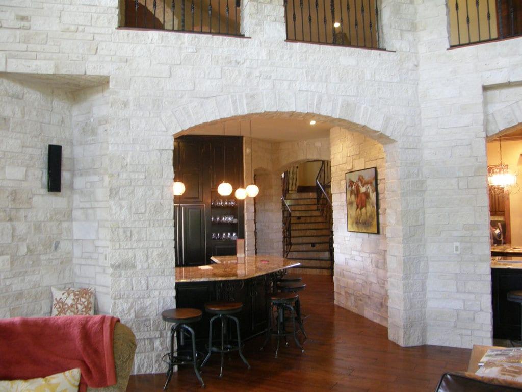 Athens Natural Stone Veneer Interior