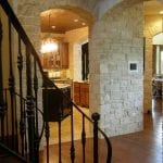 Athens Natural Thin Stone Veneer Interior Wall