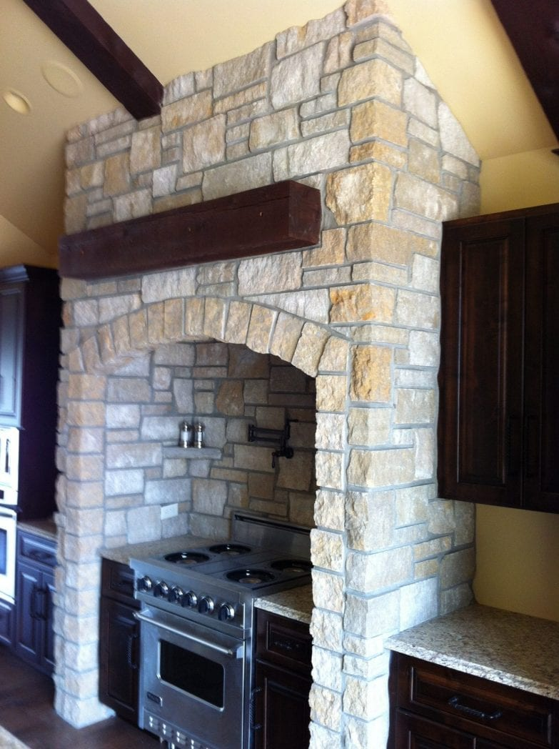 Cambrian Thin Stone Veneer Interior Application
