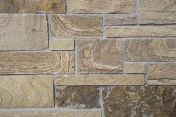 Caramel Real Quarried Thin Stone Veneer