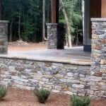 Cascade Natural Stone Veneer Blended with Brown