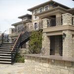 Chalet Thin Stone Veneer Residence