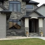 Charcoal Canyon Natural Stone Veneer Exterior