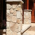 Chateau Stone Veneer Columns