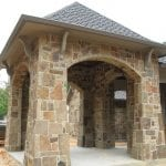 Colonial Natural Stone Veneer Outdoor Living