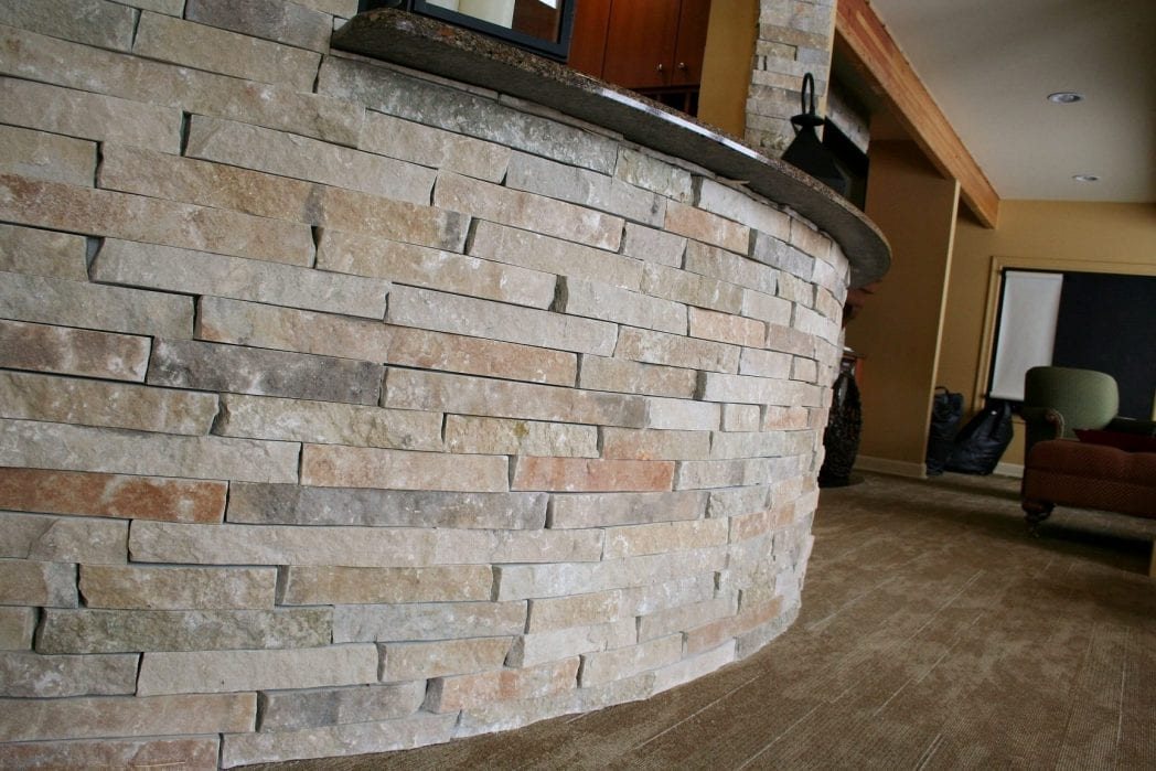 Custom Ledgestone Commercial Application