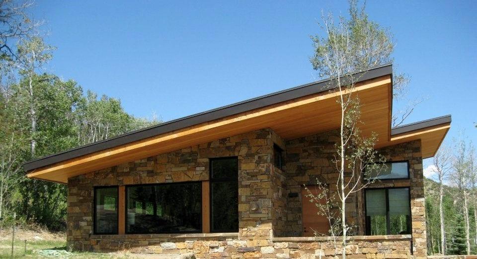 Cortez Natural Stone Veneer Residence