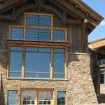 Denali Natural Stone Veneer Cabin