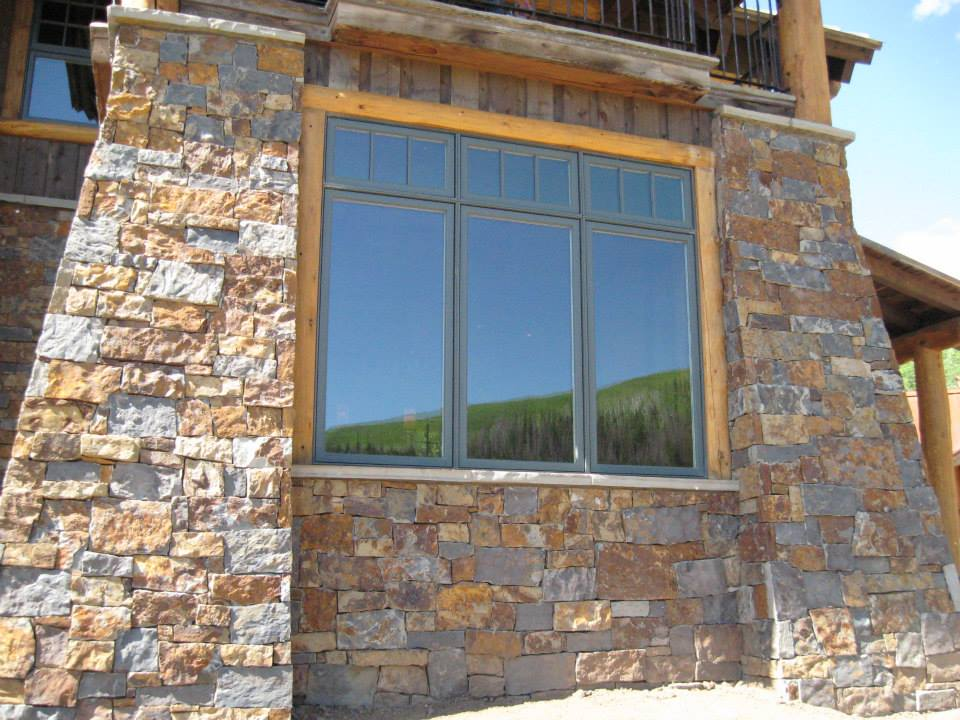 Denali Natural Stone Veneer Showcase Home
