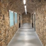 Door County Fieldstone Natural Stone Veneer Hallway