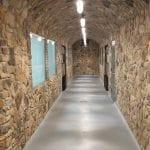 Door County Fieldstone Natural Stone Veneer Hallway
