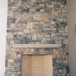 Doory County Fieldstone Fireplace
