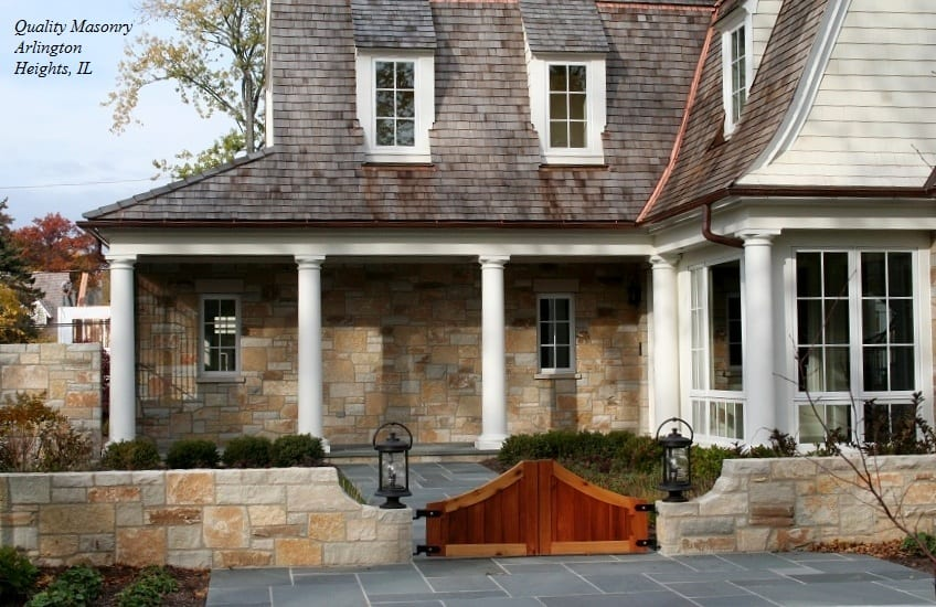 Door County Stone Veneer Exterior