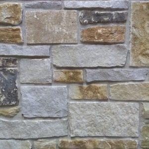 Fish Creek Wisconsin Limestone Thin Veneer