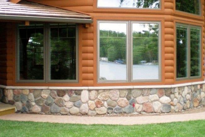 Granite Fieldstone Cobble Exterior