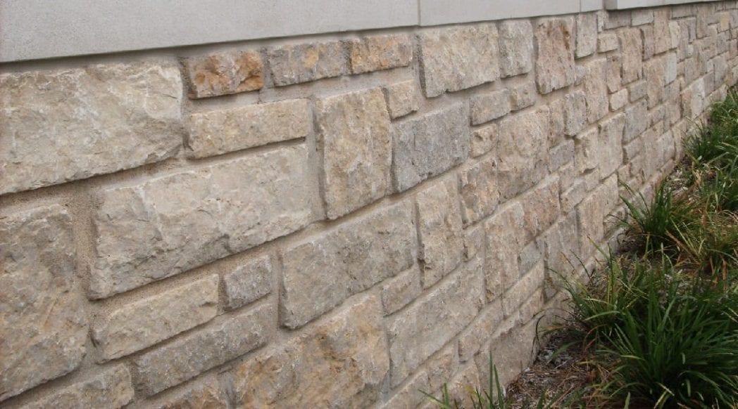 Halcyon Natural Stone Veneer Wall