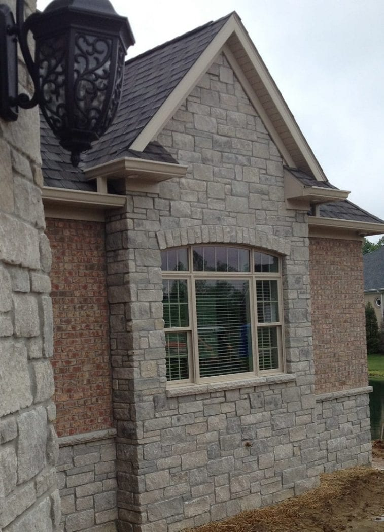 Natural Stone Veneers ǀ Faux Stone Siding ǀ Stone Veneer: Hamilton - Natural Thin Stone Veneer