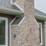 Harbor Springs Real Stone Veneer Exterior Application