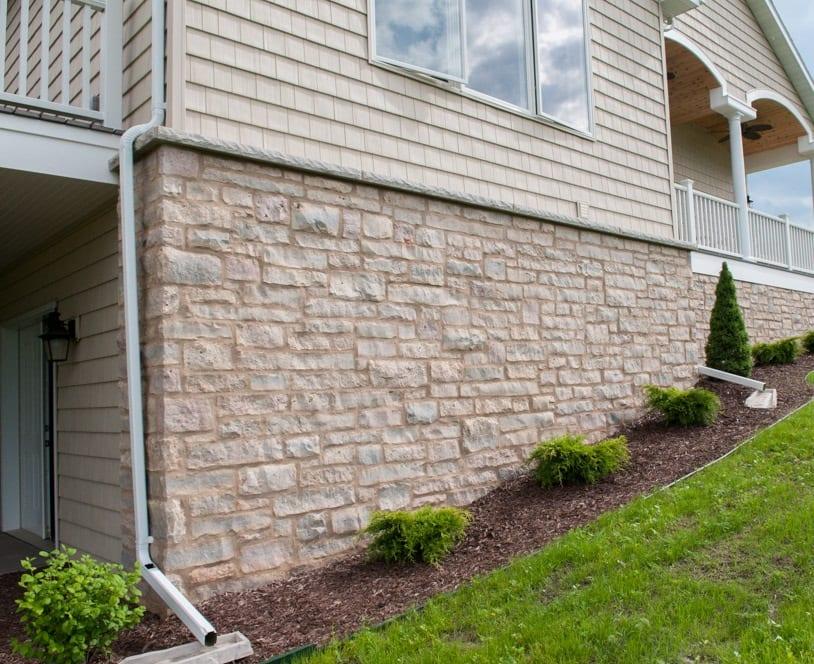 Harbor Springs Real Stone Veneer Exterior
