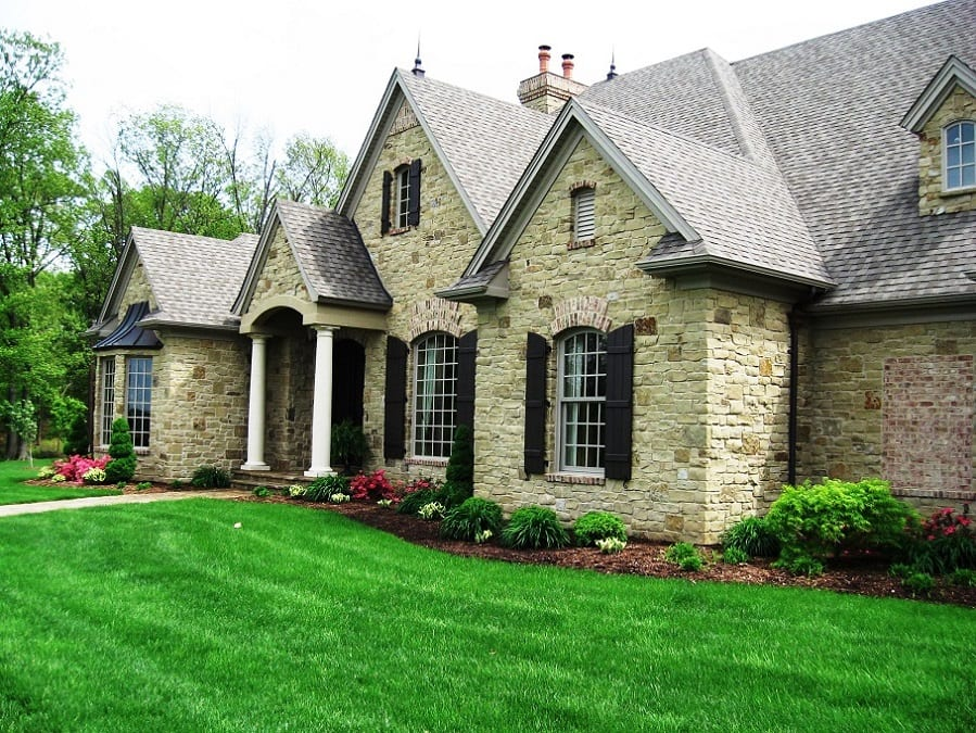 Custom Mayfair Thin Stone Veneer Exterior