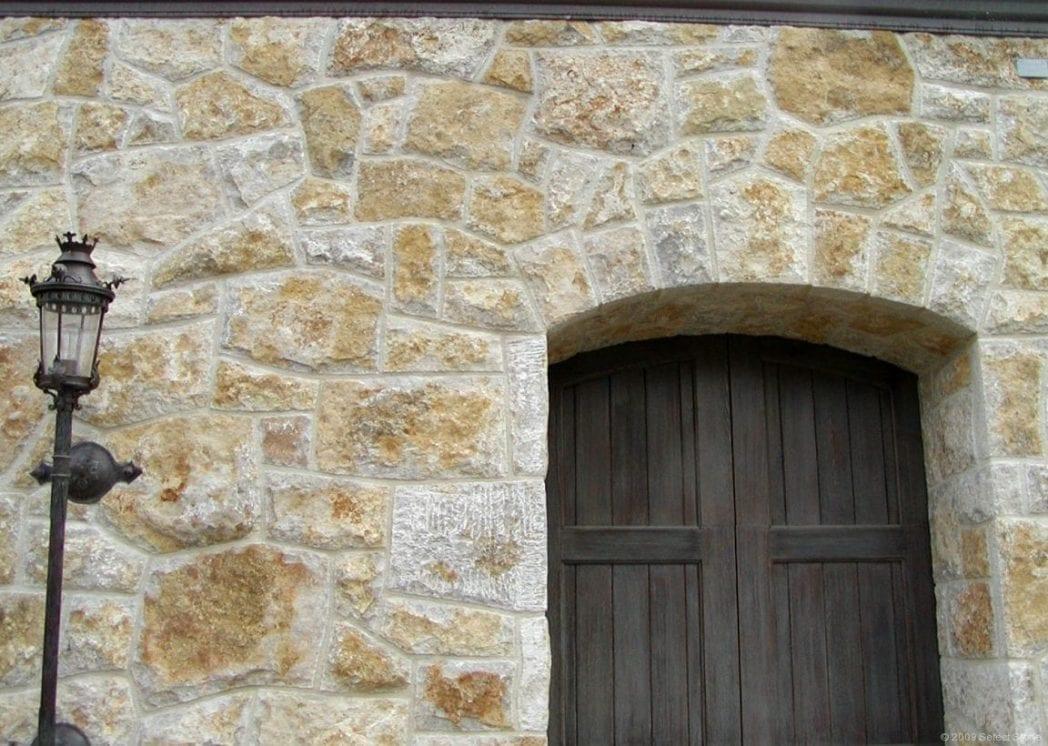 Monaco Natural Stone Veneer Entry