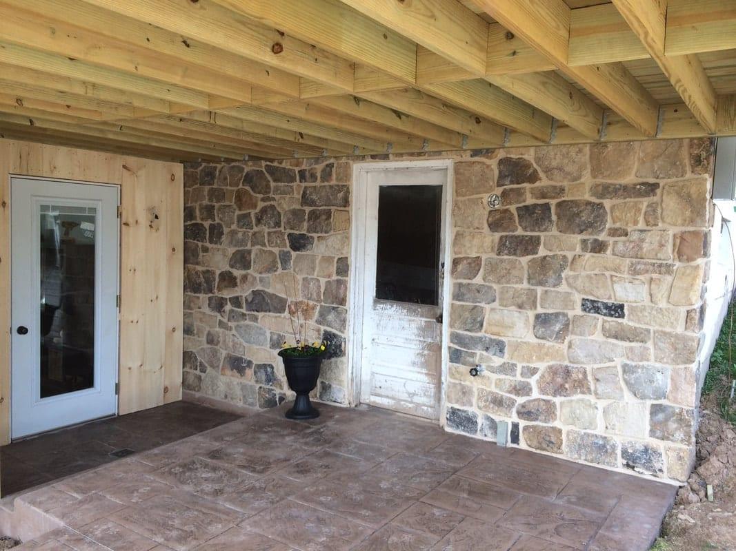 Pioneer Natural Thin Stone Veneer Exterior Outdoor Living