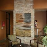 Custom Limestone Interior Column