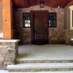 Rainier Natural Stone Veneer Entrance