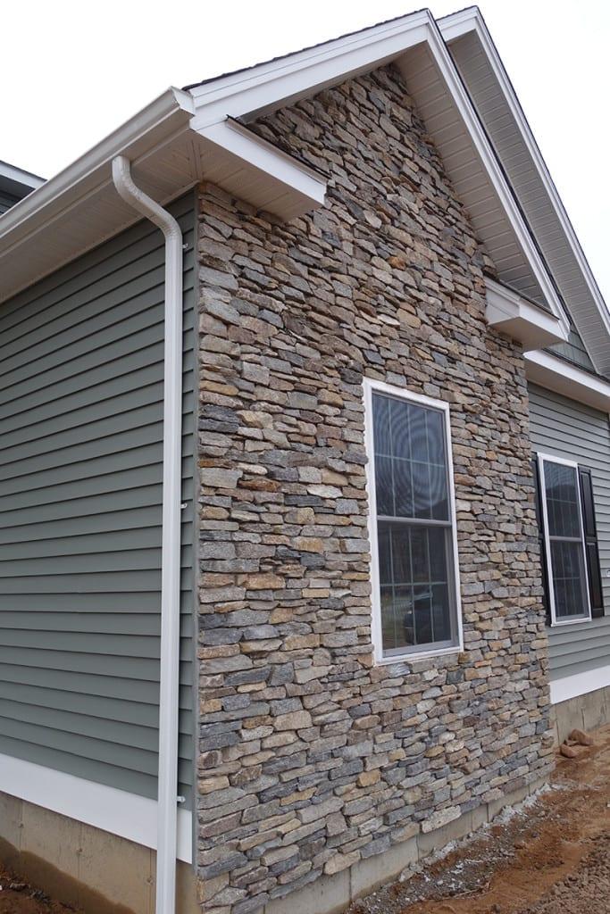 Sierra Natural Thin Stone Veneer Residential Exterior