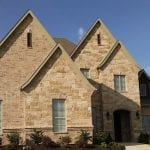 Sister Bay Natural Stone Veneer Home