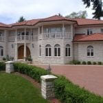 Snowcap Natural Thin Stone Veneer Residential Exterior
