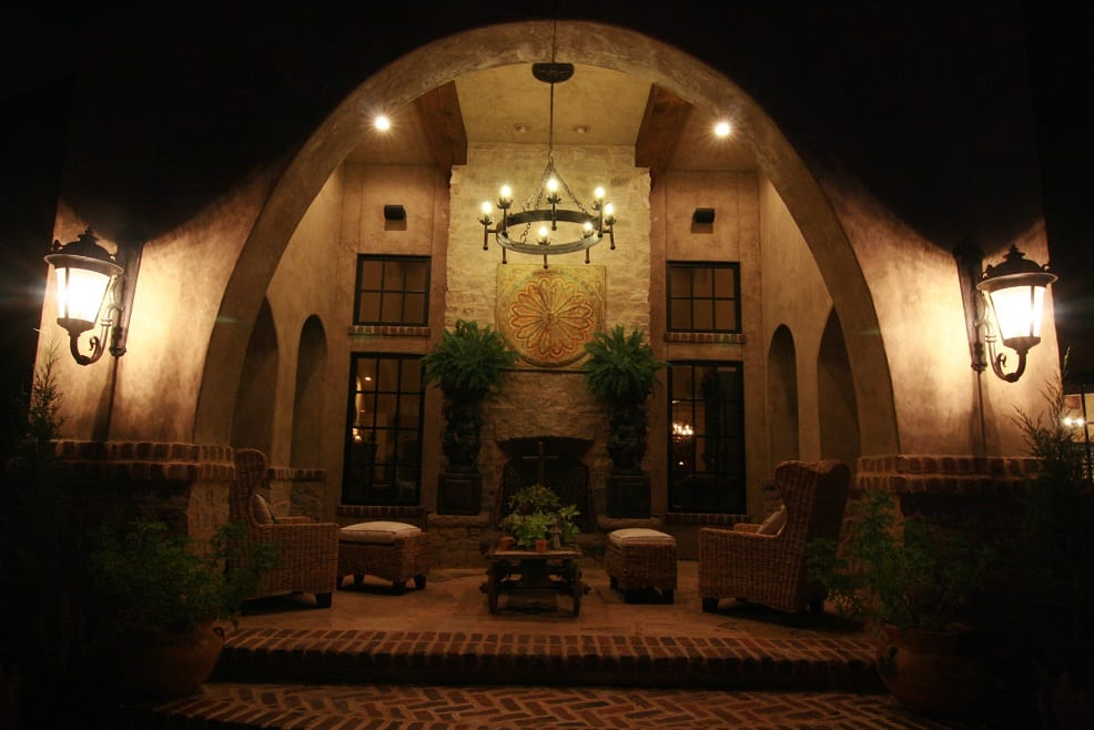 Tuscany Natural Stone Veneer Fireplace