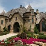 Tuscany Natural Stone Veneer Exterior Home