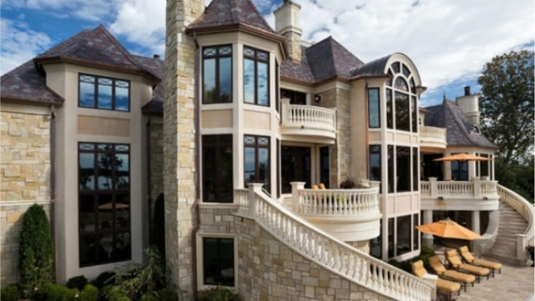 Exterior Natural Stone Veneer Applications