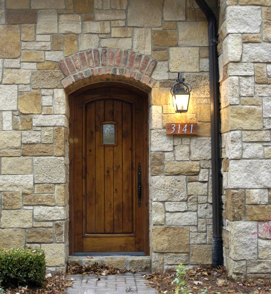 Belvedere Natural Thin Stone Veneer Entry