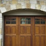 Belvedere Natural Thin Stone Veneer Exterior Garage