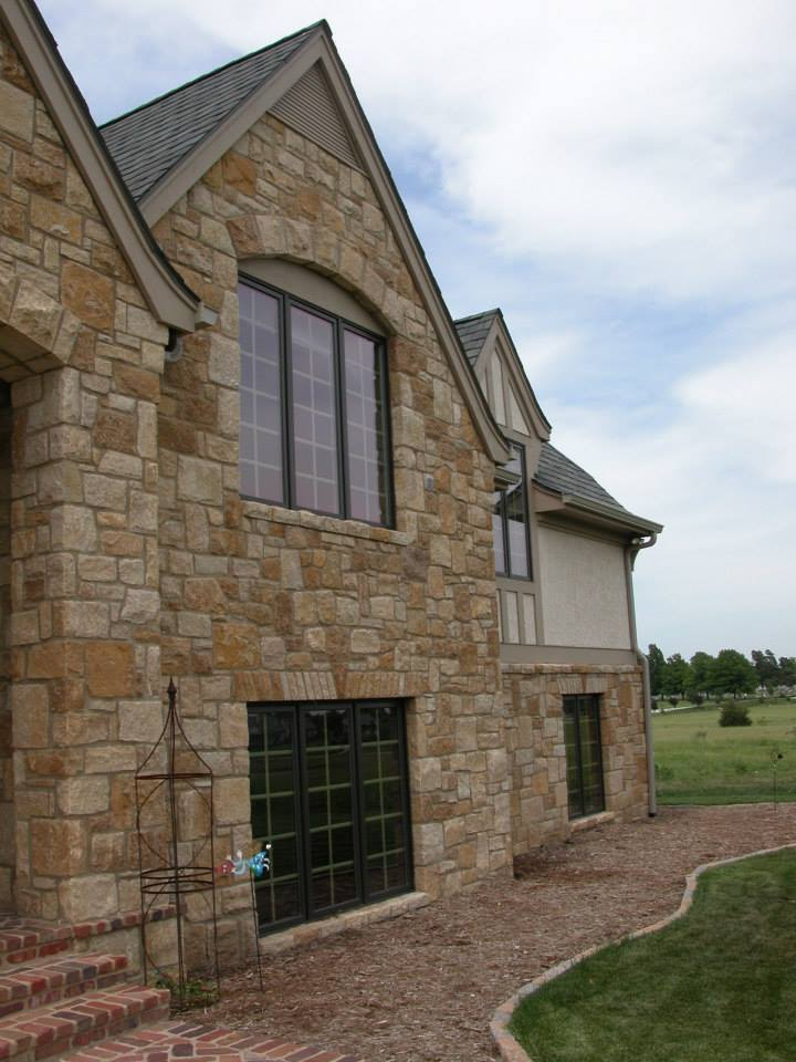 Belvedere Natural Thin Stone Veneer Exterior