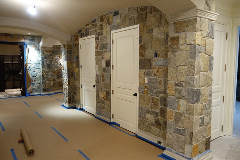 Boston Natural Stone Veneer Interior