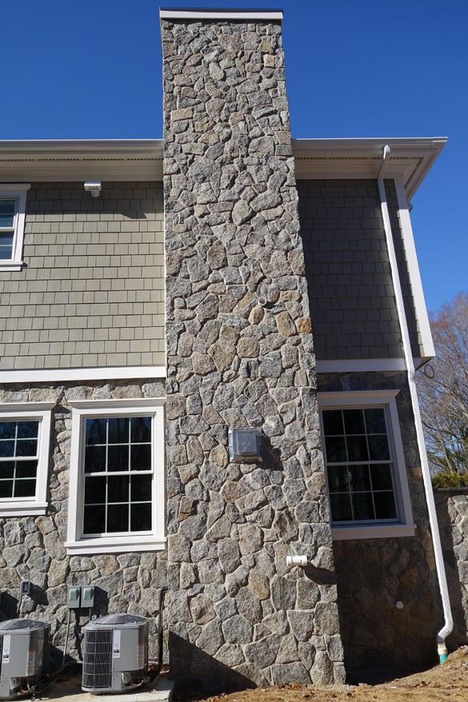 Bridgeport Mosaic Grey Natural Stone Veneer