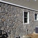 Bridgeport Mosaic Natural Stone Veneer Exterior