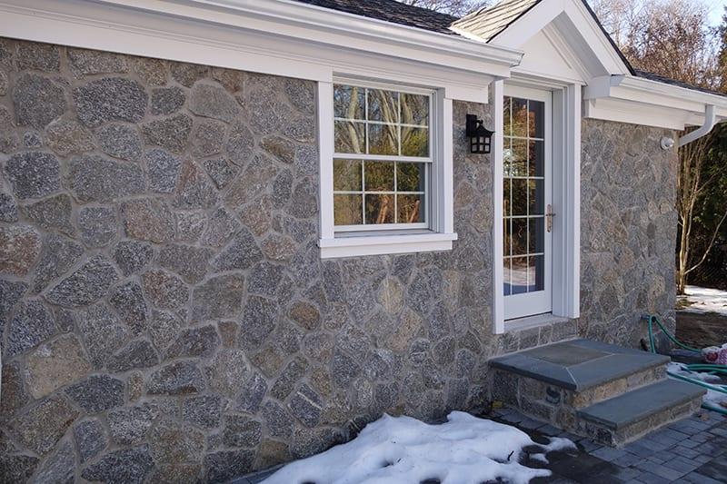 Bridgeport Natural Stone Veneer Exterior