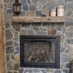 Kenai Natural Stone Veneer Fireplace