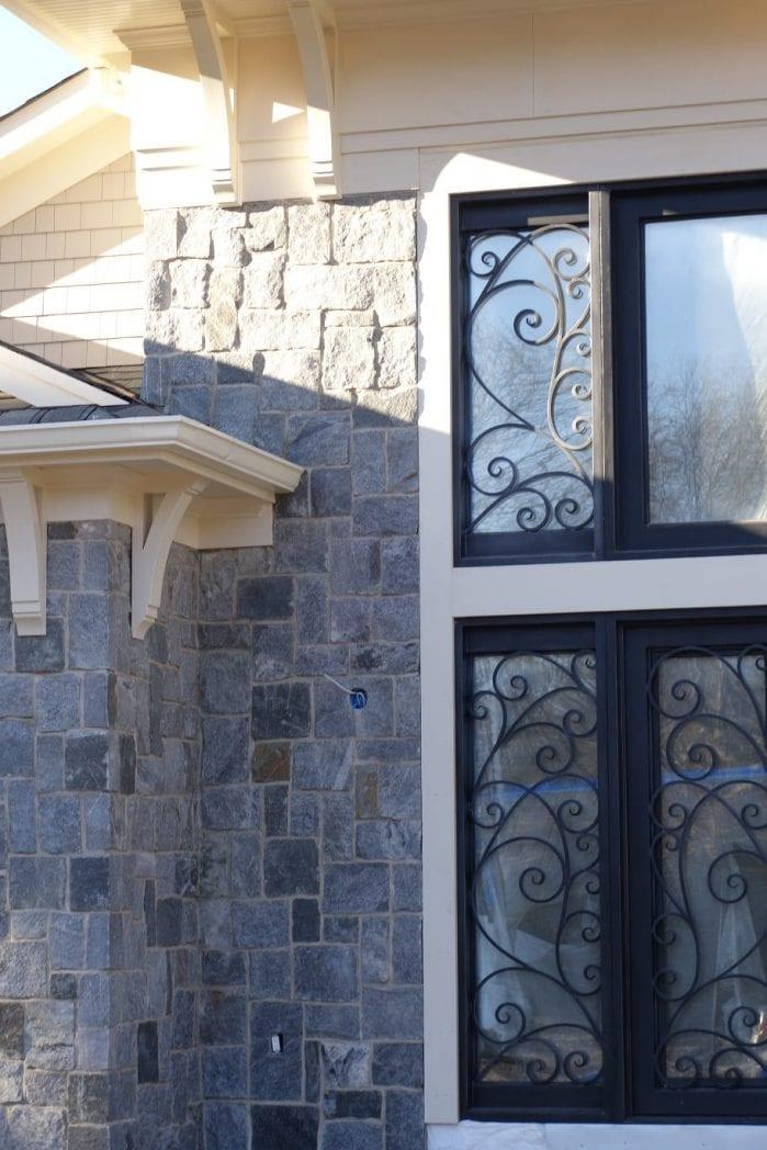 Nantucket Natural Stone Veneer Exterior