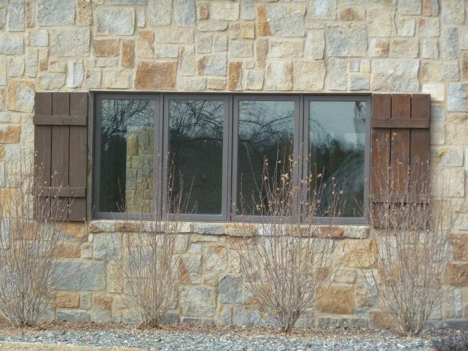 Providence Natural Stone Veneer Residence