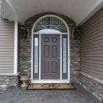 Silverton Natural Thin Stone Veneer Entrance Drystack