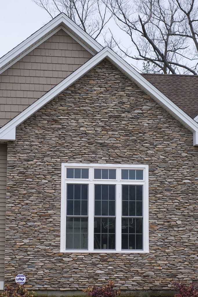 Silverton Natural Thin Stone Veneer Home