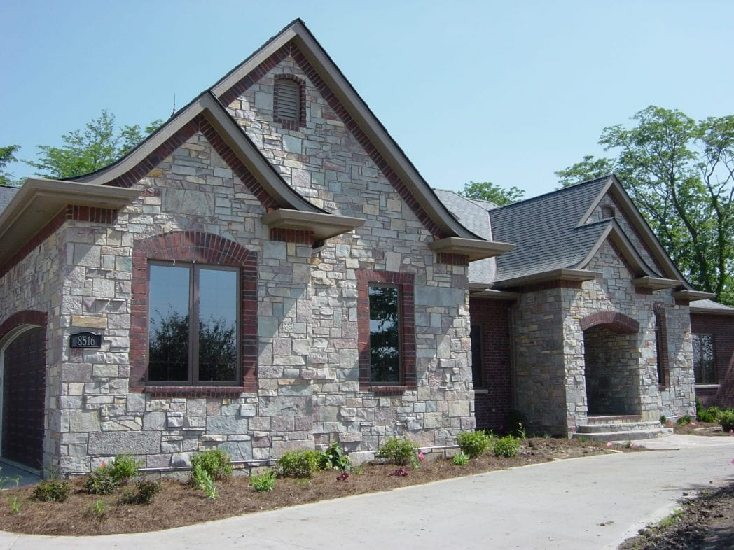 Avondale Natural Stone Veneer Exterior