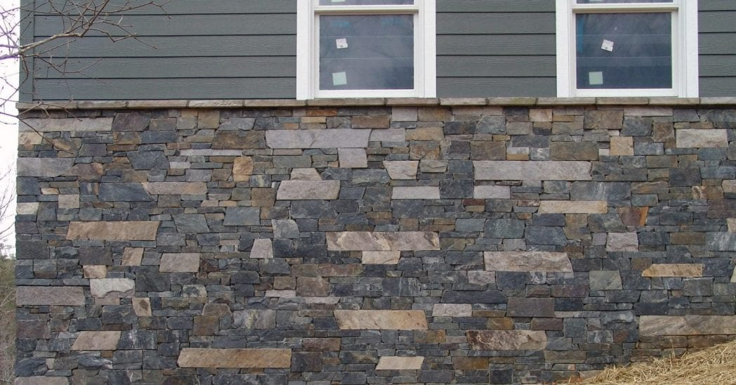 Charleston and Coventry Thin Stone Veneer Exterior Blend
