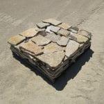 Chateau Natural Thin Stone Veneer Flats Pallet