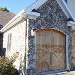Coastline Thin Stone Veneer Exterior Garage
